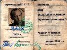 Orginalna legitymacja łowiecka Kolegi Adama Skotnickiego z roku 1964.