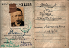 Orginalna legitymacja łowiecka Kolegi Jana Kolańcztka z roku 1953.