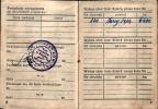 Strona legitymacji Kolegi Jana Kolańczyka stwierdzającego jego członkowstwo w Sokole.