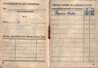 Strona dokumentująca pełnienie funkcji Prezesa w latach 1955 - 1957 przez Kolegę Jana Kolańczyka.