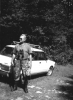 Kolega Artur Bańkowski, polowanie na rykowisku.