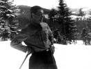 Kolega Jan Boligłowa na nartach.
