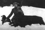 Kolega Jan Boligłowa ze strzelonym odyńcem, waga 260 kg, rok 1949.